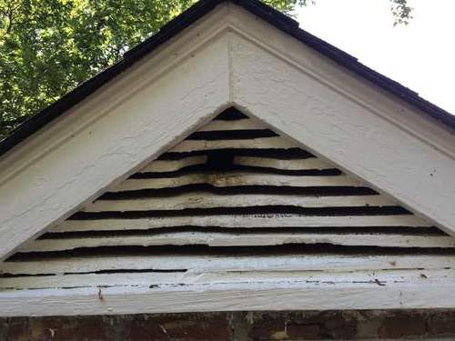 Rodent proof gable vents in Nashville