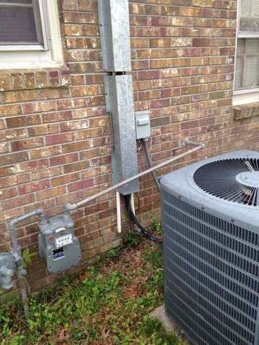 Rodent proof AC chase in Nashville